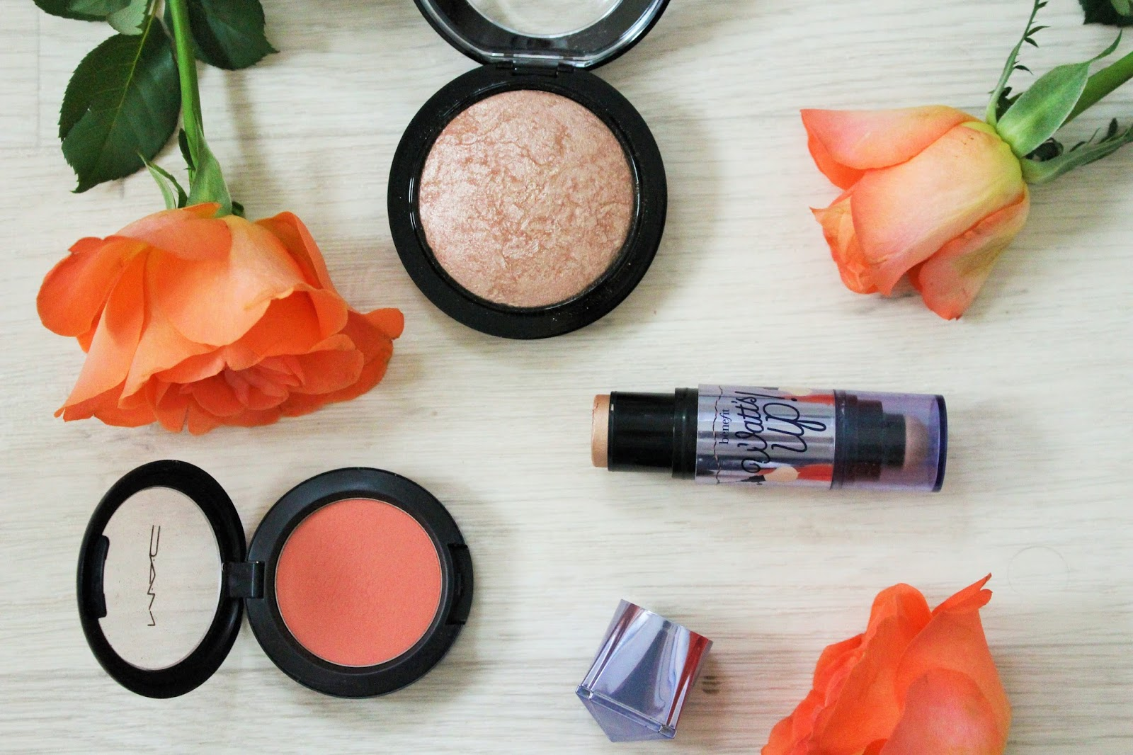 Blush and Highlight Products for Bridesmaids