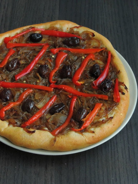 Vegan French Onion Pizza, Vegan Pissaladiere