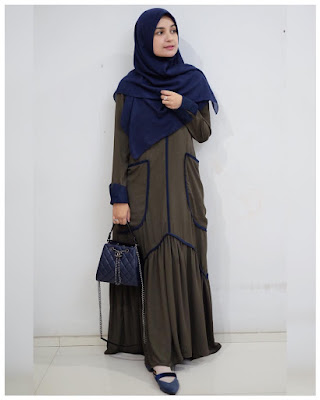 gamis simpel shireen sungkar