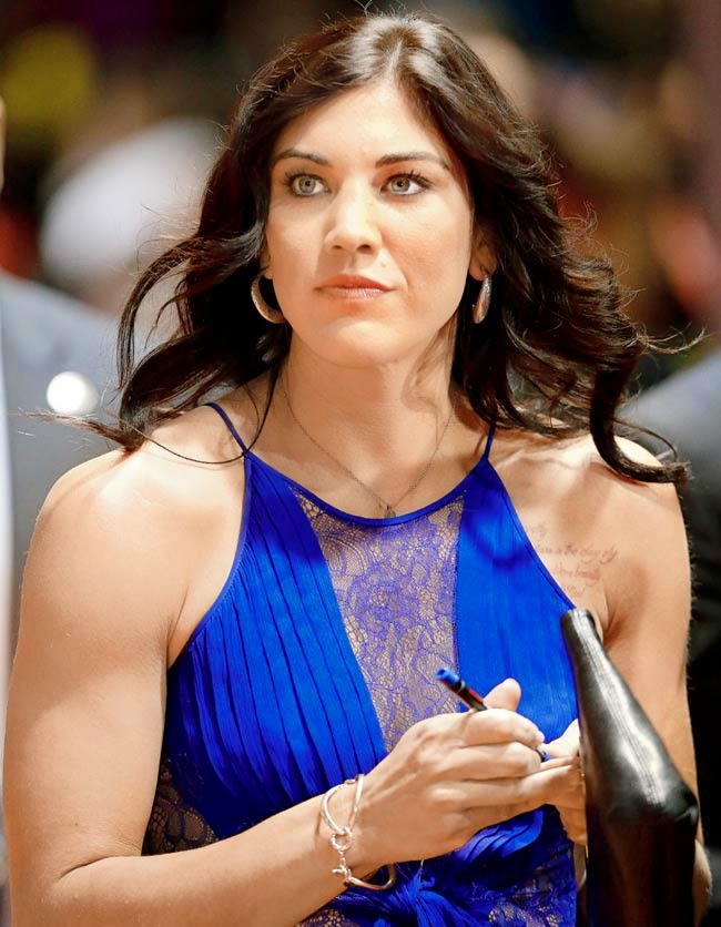 In A New Statement Hope Solo Attacked The Hackers Of Her Naked Photos Leaked And Defends Her Right To Privacy