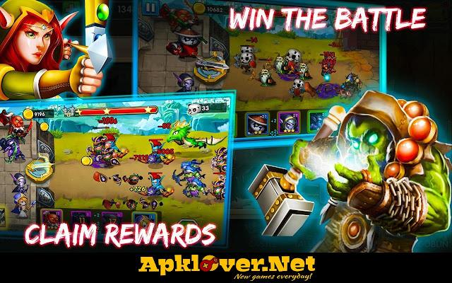 Defender Heroes MOD APK unlimited money