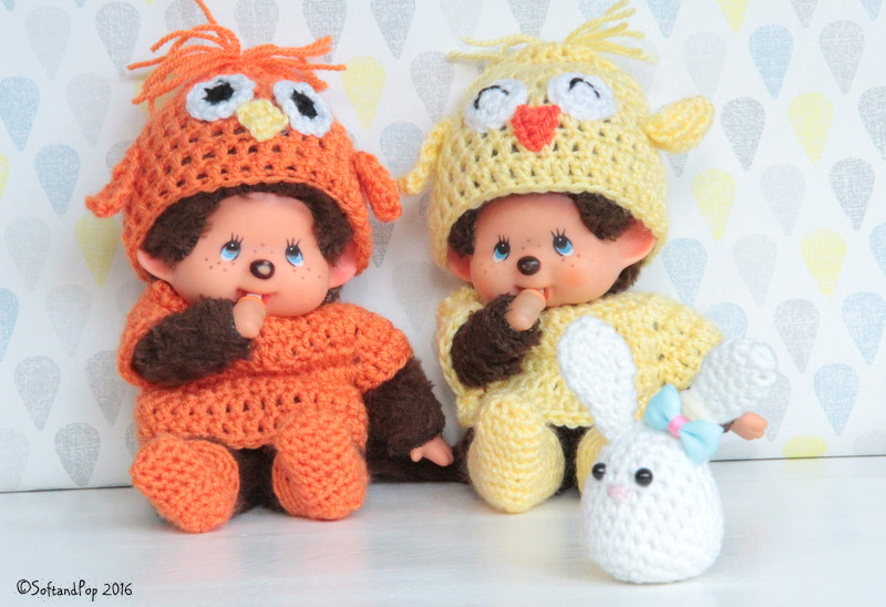 Patron Crochet pour Kiki Monchhichi by SoftandPop