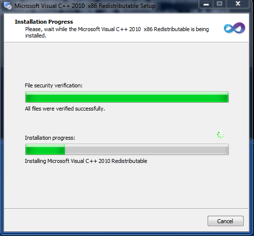 Microsoft Visual C++ Redistributable Packages