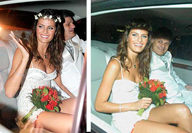 Isabeli Fontana vestido de noiva, casamento Henri Castelli