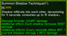 naruto castle defense 6.0 Shikamaru summon shadow detail