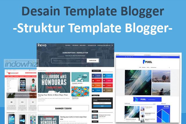 Desain Template Blogger: Struktur Sebuah Template Blogger