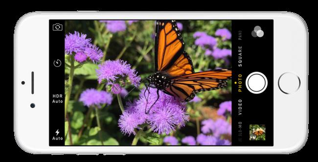كاميرا ايفون iphone 6
