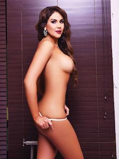 Tania Reza desnuda en la revista playboy Mexico de enero 2016