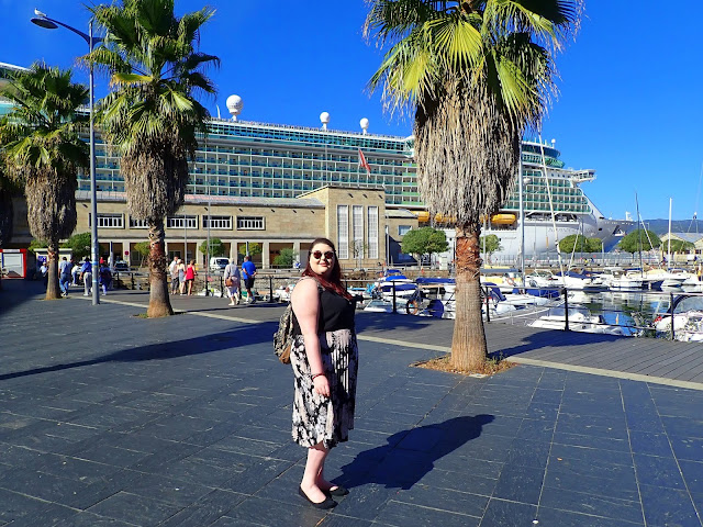 Independence of the Seas Royal Caribbean Cruise Ship Docked in Vigo Travel Blogger