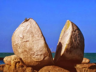 gambar 4 split apple rock