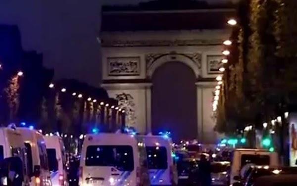 Un policía muerto atentado París 20 abril