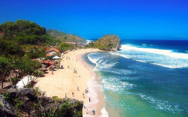 Pantai Indrayanti Pantai Selatan Kabupaten Gunung Kidul