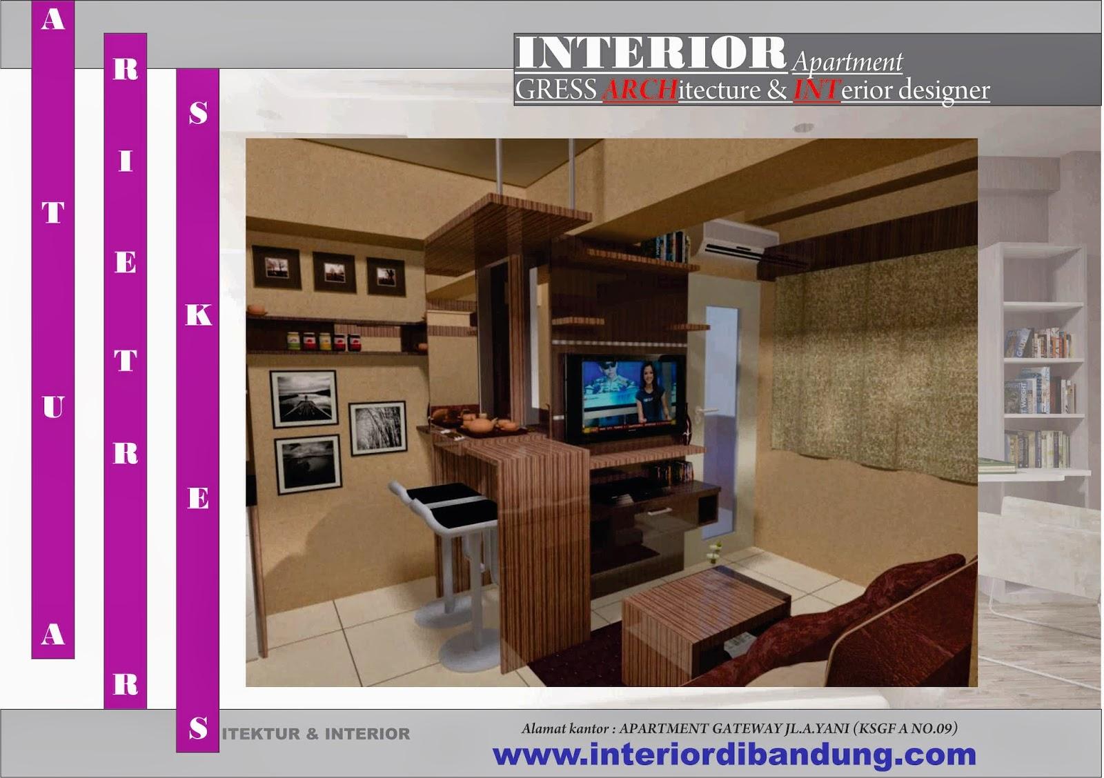 Home Design Planning Design Interior Apartemen Tipe 36