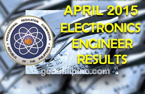 Full Passers List: Electronics Engineer Board Exam Results (April 2015)