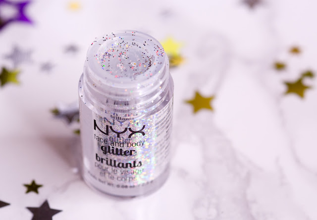 NYX Face and Body Glitter Brilliants «Crystal»