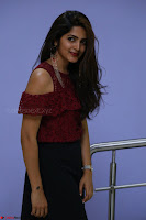 Pavani Gangireddy in Cute Black Skirt Maroon Top at 9 Movie Teaser Launch 5th May 2017  Exclusive 004.JPG