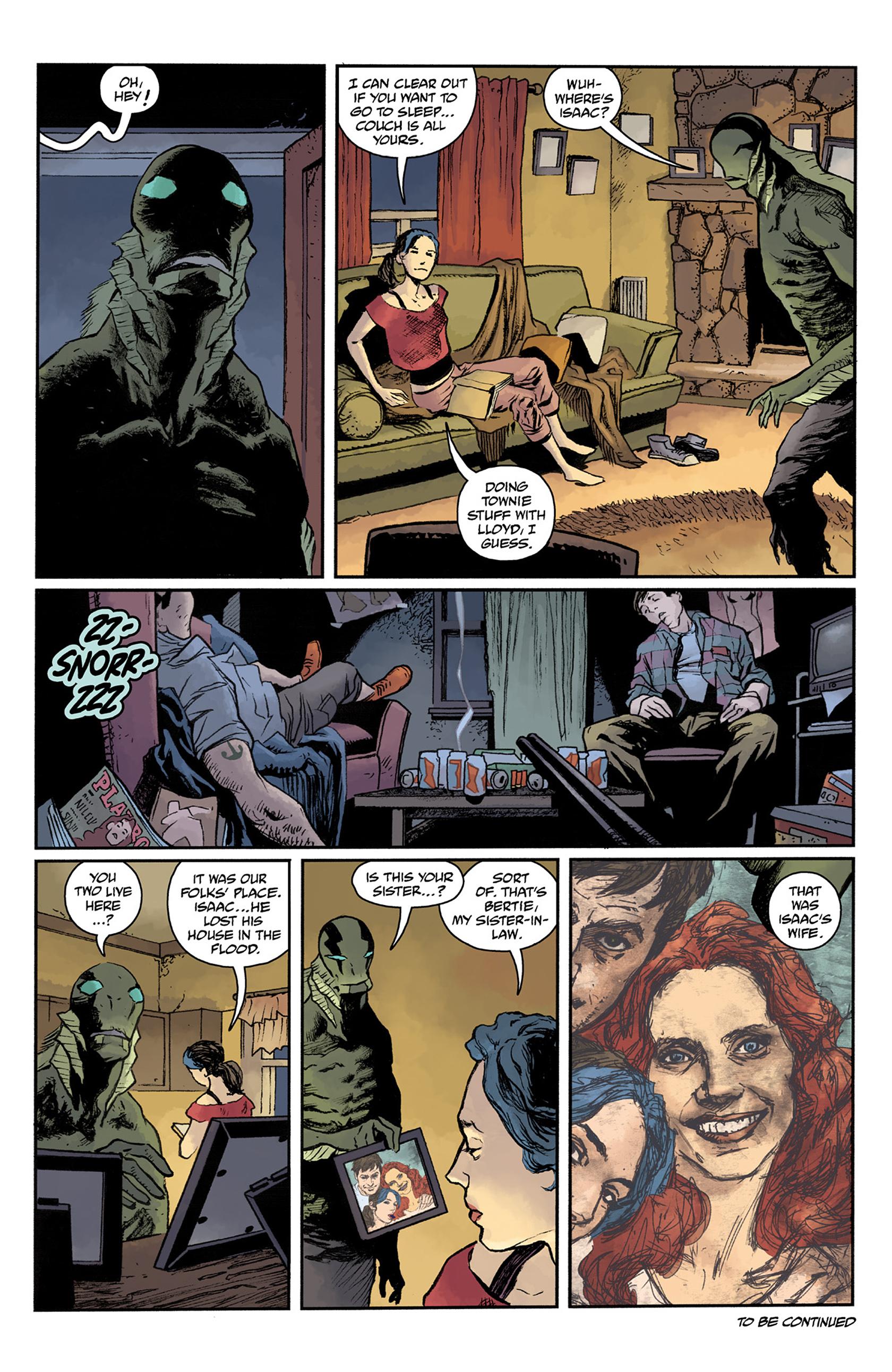 Read online Abe Sapien comic -  Issue #24 - 23