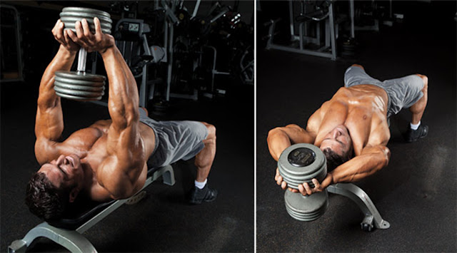 Best Chest Exercises of All Time - 30 Exercise - Pullover