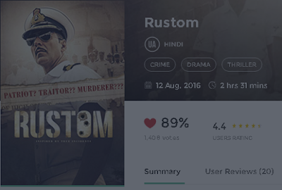 Rustom (2016) Full Movie in 3gp hq HD 720p avi mp4 free Download