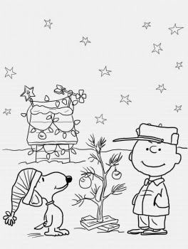 Coloring Pages: Charlie Brown Christmas Coloring Pages and