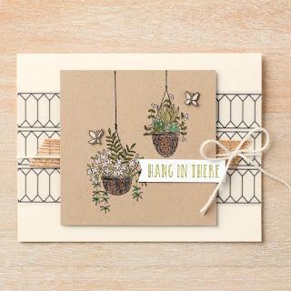 Stampin' Up! Hanging Garden Card