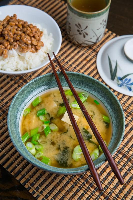 Tofu and Wakame Miso Soup