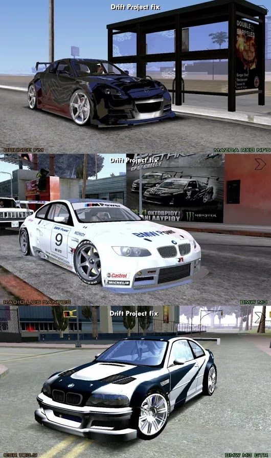 GTA SA ANDROID DRIFT PROJECT MOD PACK DOWNLOAD guide free