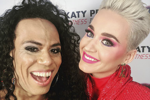 Trans Power! Cantora Valéria revela como foi abrir show de Katy Perry