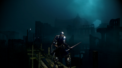 dark souls video game 2011 new londo ruins landscape