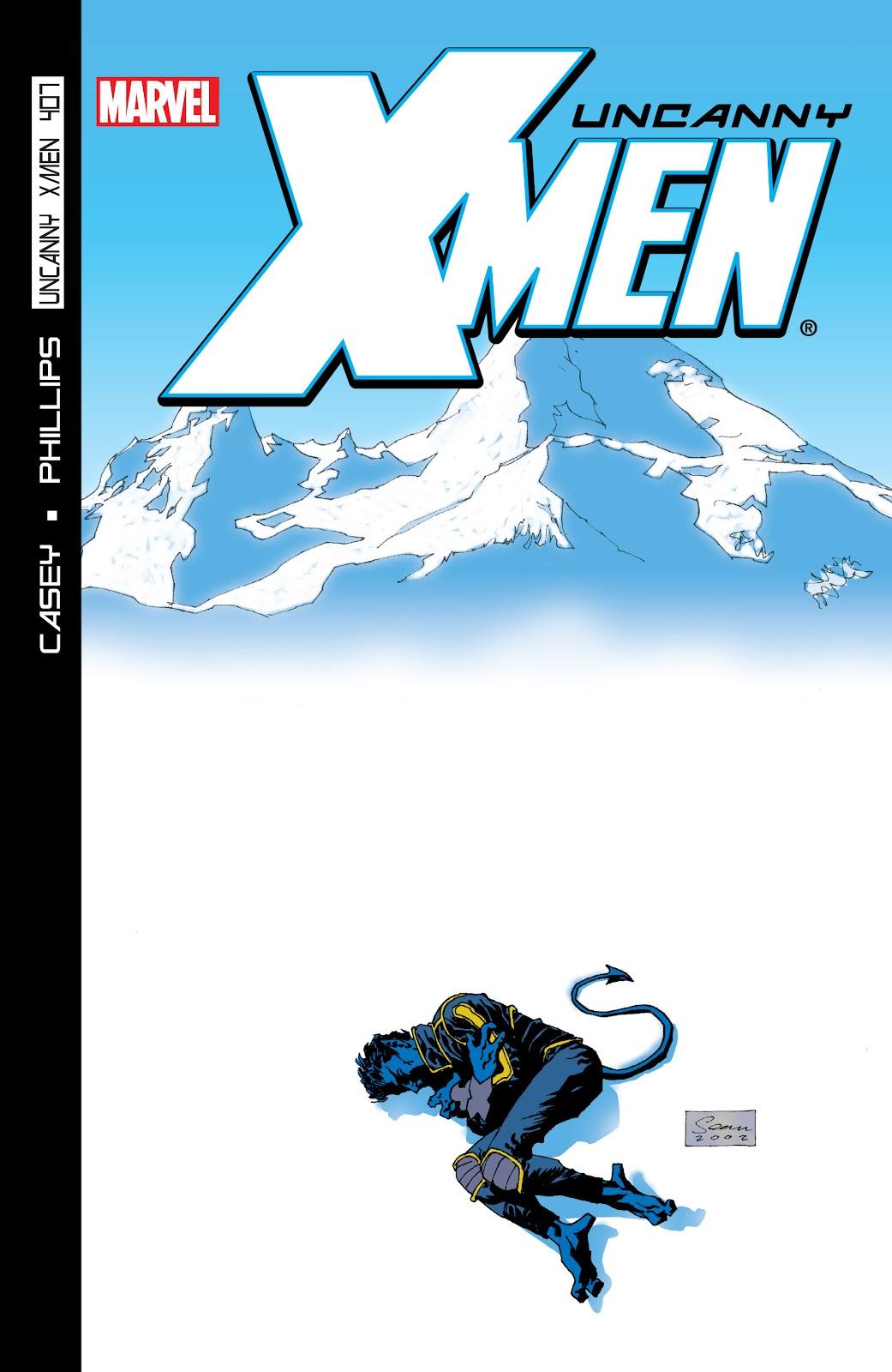 Uncanny X-Men (1963) issue 407 - Page 1
