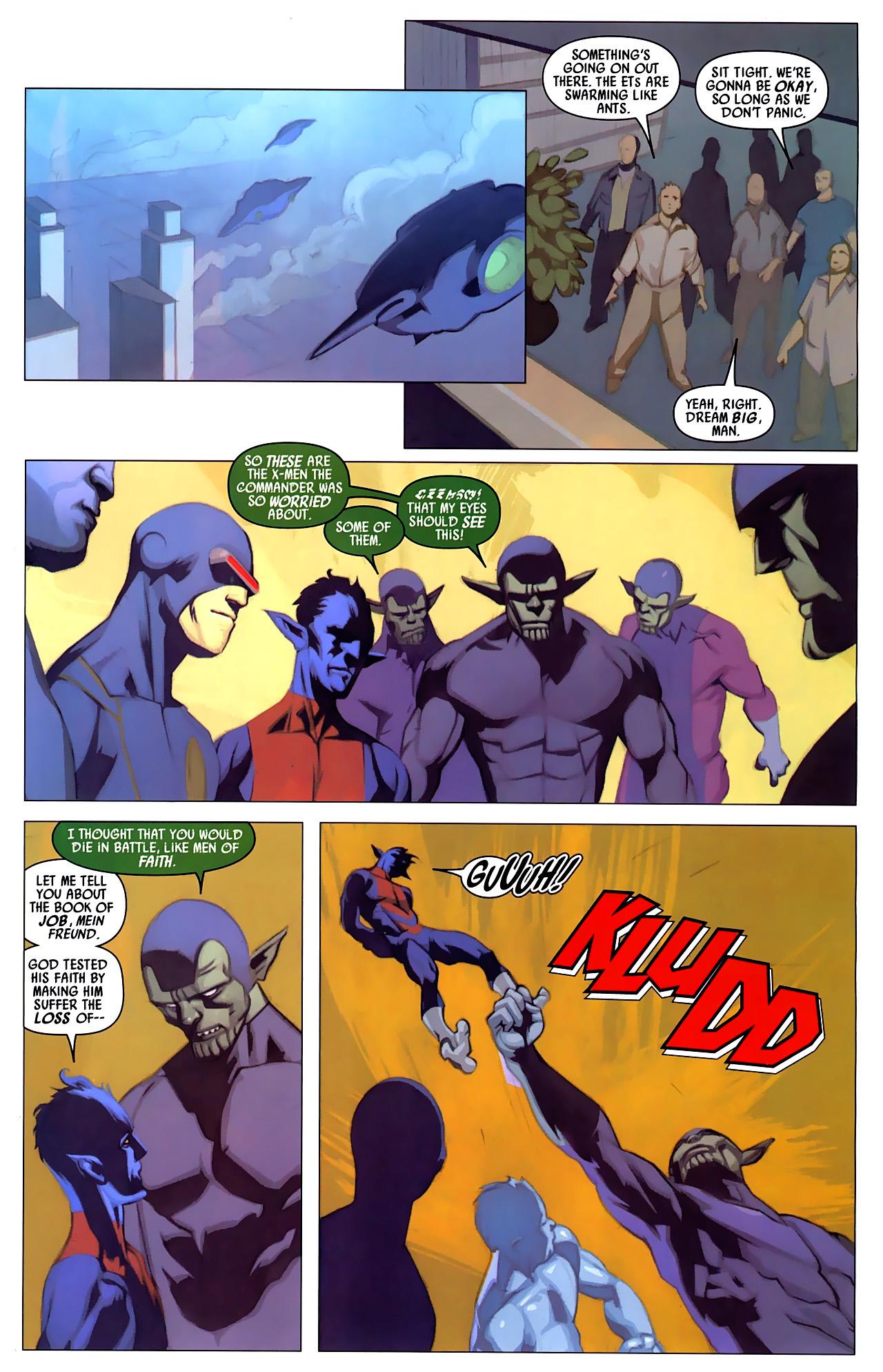 Read online Secret Invasion: X-Men comic -  Issue #4 - 12