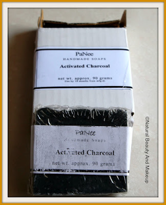 PaNee Handmade Soaps And Body Works ACTIVATED CHARCOAL Soap Review