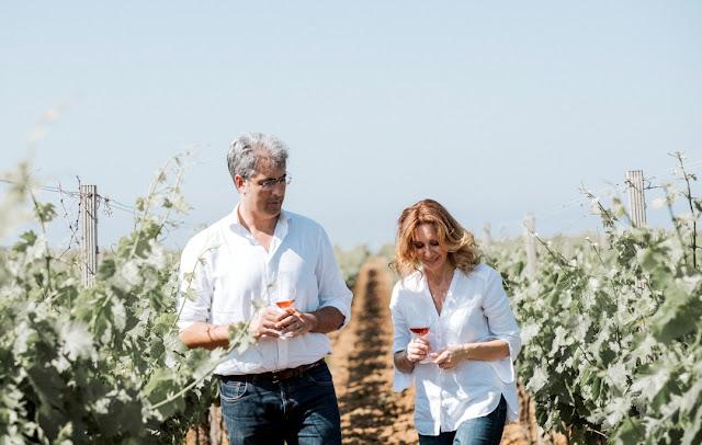 Winzerpaar Romina und Luigi Rubino