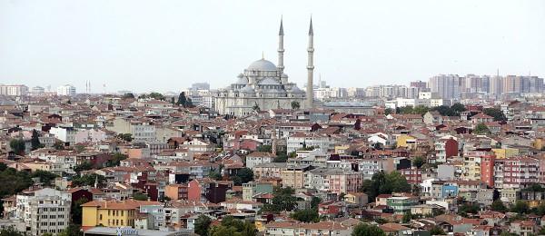 गलाता टावरबाट इस्तानबुल शहरको दृश्य