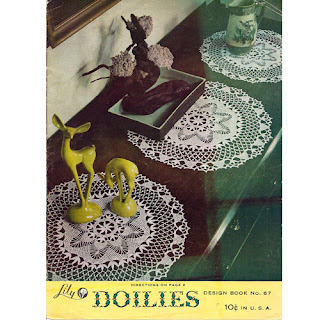 Vintage Doily Pattern from Lily Mills