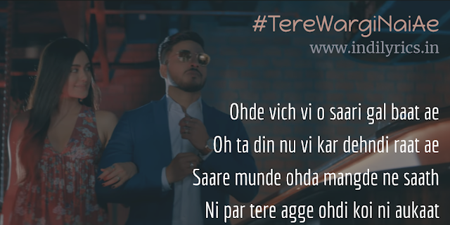 Woh Tere Wargi Nai Ae | Raftaar ft. Adah Sharma | Full Audio Song Lyrics with English Translation and Real Meaning