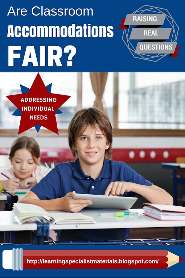 Are academic accommodations fair?