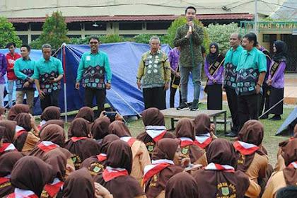 Putra Presiden Jokowi Gibran Rakabuming  Motivasi Siswa SMAN 2 Banjarbaru