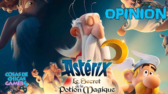 Asterix y el secreto de la poción mágica