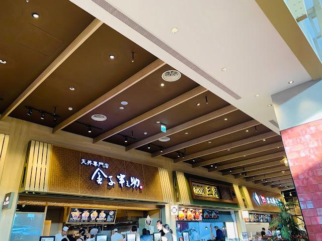 台中三井OUTLET-美食街