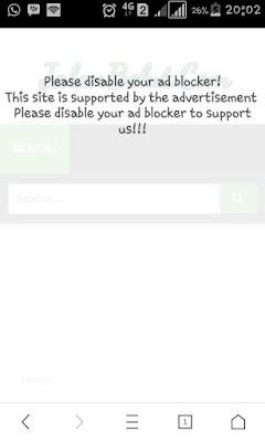 Cara Memasang Anti Adblock UC Browser Di Blogger [Tested]