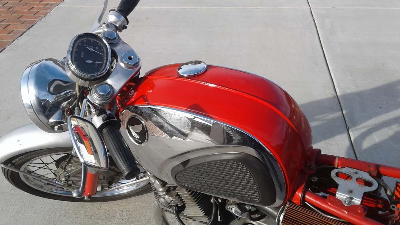 Honda CB160 Gastank Tangki