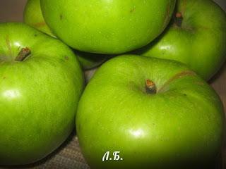 зеленые яблоки для варенья