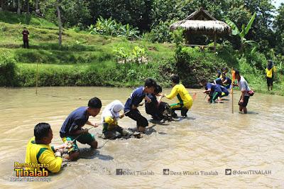 outbound jogja smp unggulan ayisyiyah bantul di desa wisata tinalah kulon progo yogyakarta