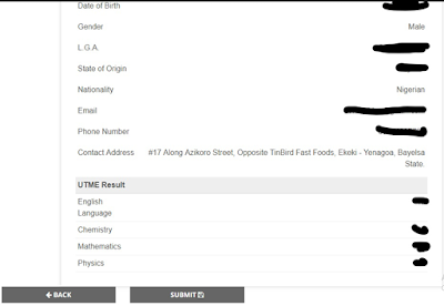 How to Process FUOtuoke Post UTME Application