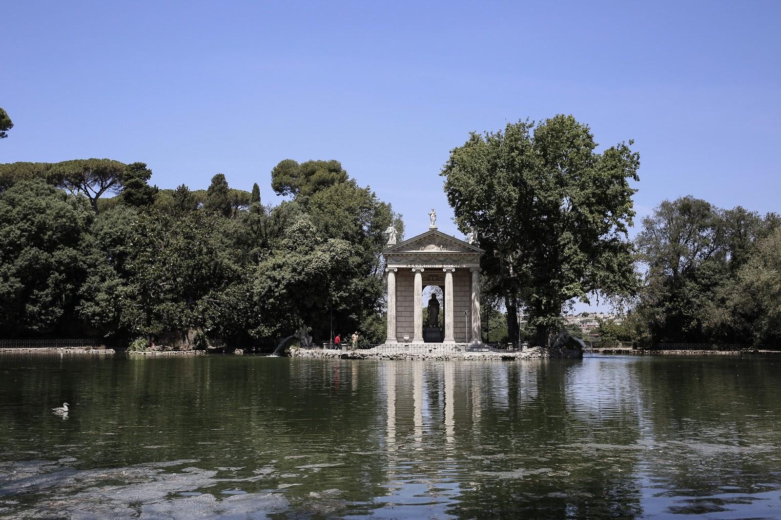La Villa Borghèse, blogueuse mode, maeva dck, jardins