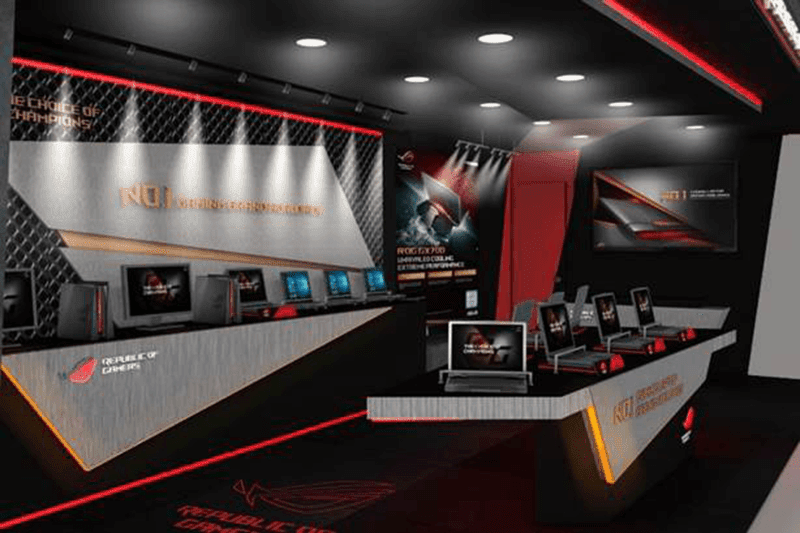 Inside the ROG PH store