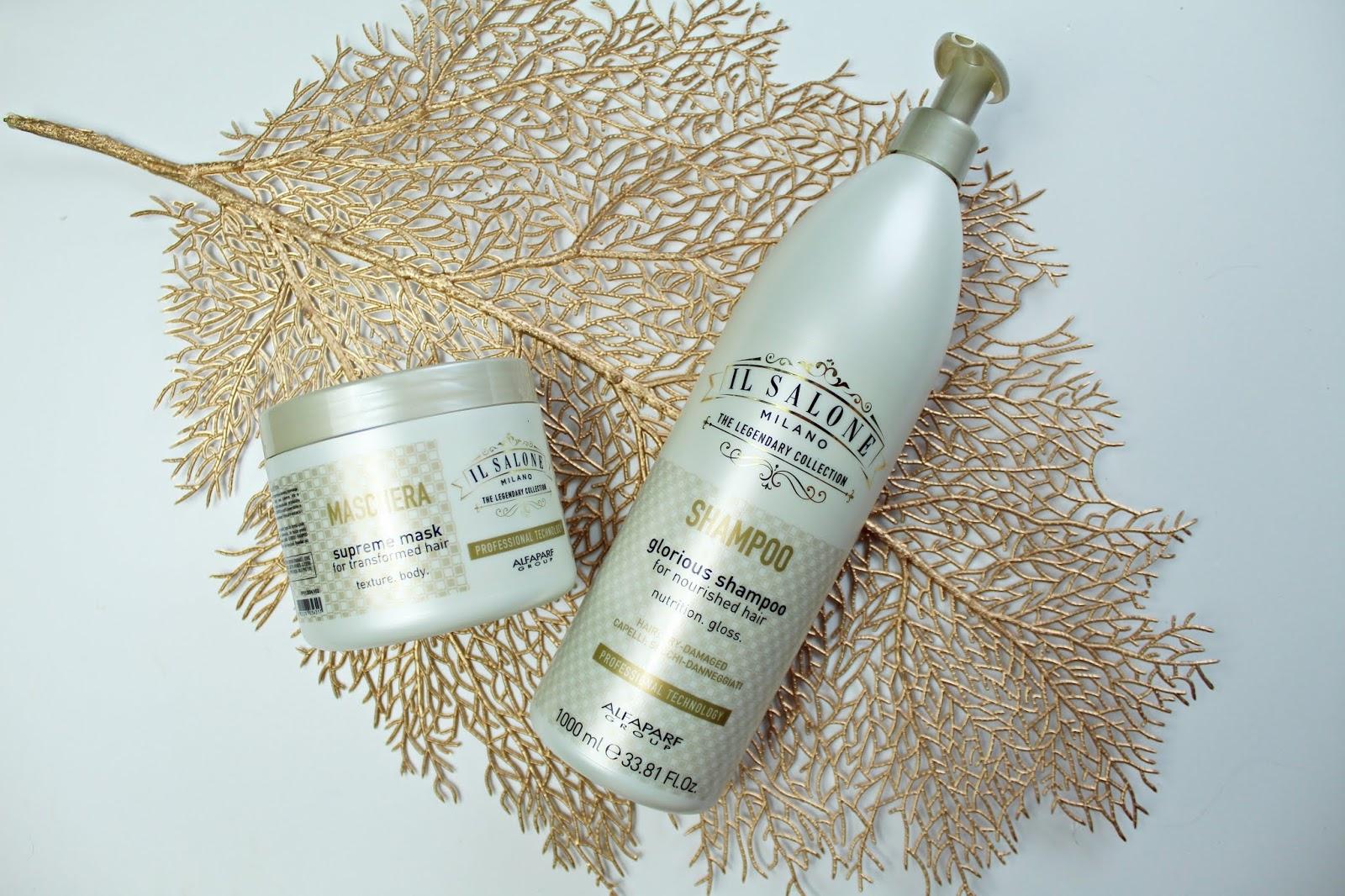 Profesjonalna pielęgnacja włosów z IL SALONE MILANO - Glorious Shampoo i Supreme mask