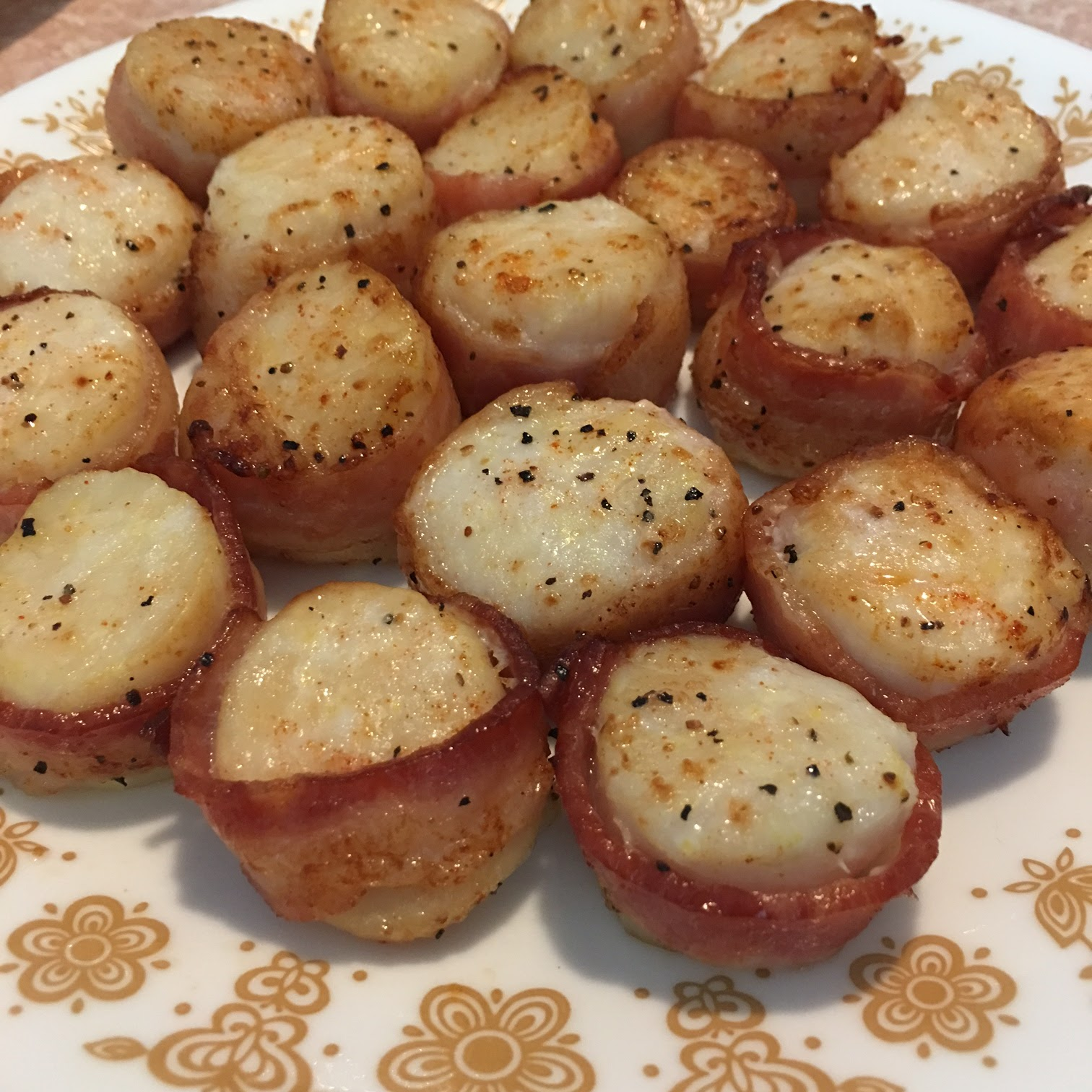 Toast to Roast Air Fried BaconWrapped Scallops Bacon