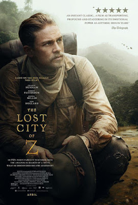 The Lost City Of Z 2016 DVD R1 NTSC Latino